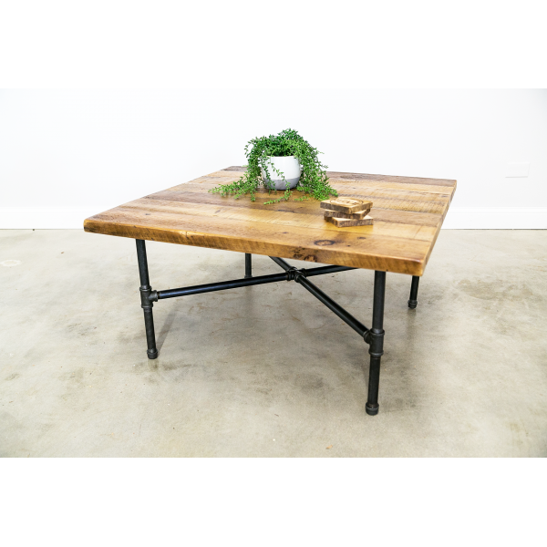 X-Base Industrial Coffee Table