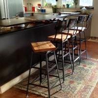 Wood, Metal Seating