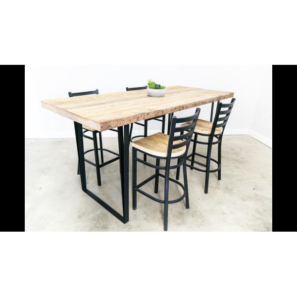 Bar Height U-Shape Dining Table