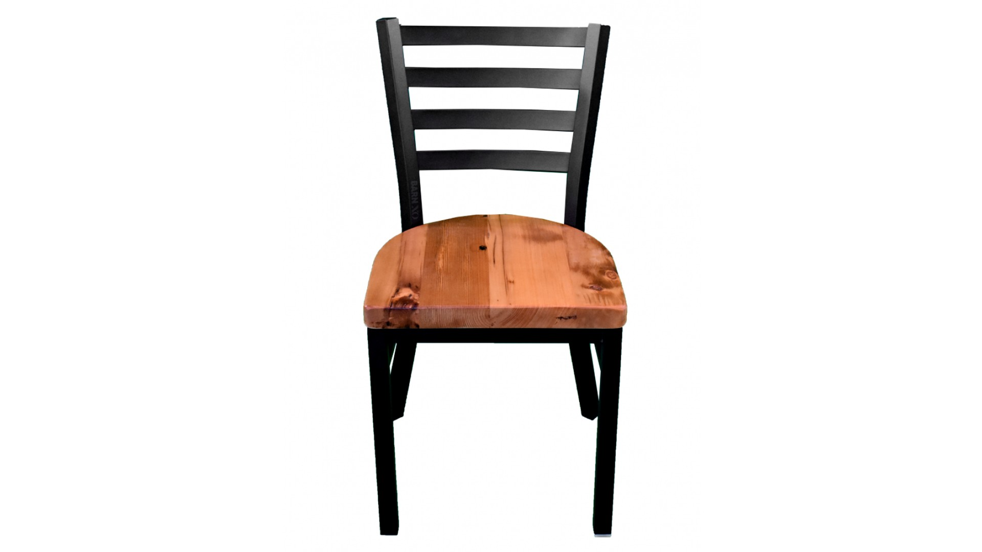30 Inch Black Ladder Chair