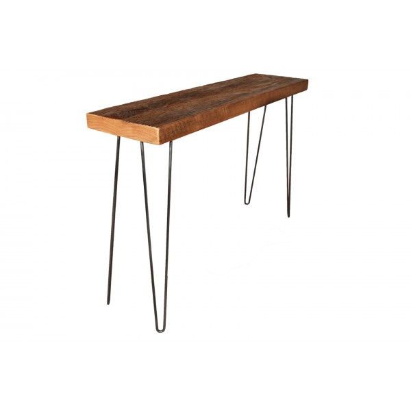 Two Rod hair pin Leg Console table