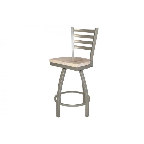 Counter Height Swivel Ladder Back Bar Stool