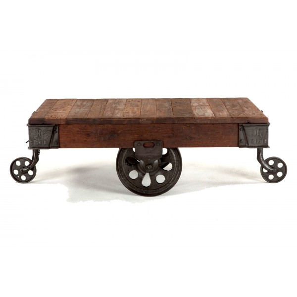Industrial Coffee Table Wheels