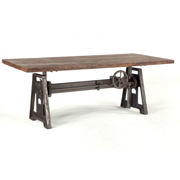 Industrial Loft 84 Inch Adjustable Table