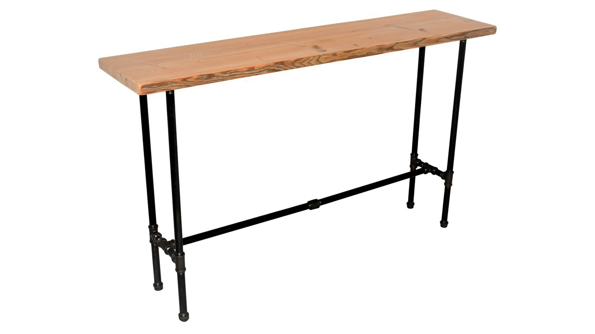 Modern Console Table with Cross Bar