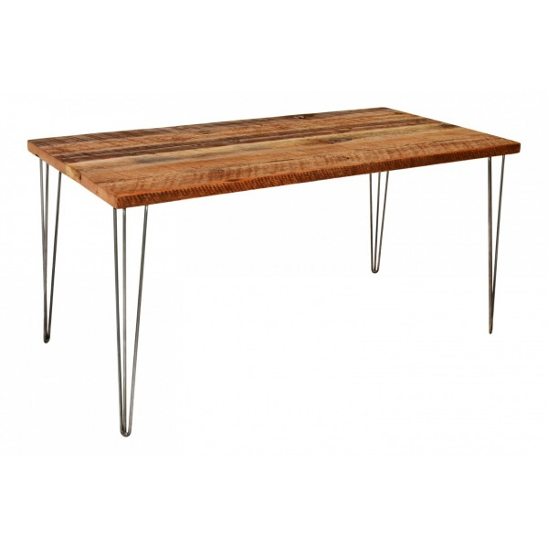 3 Rod Hair Pin Leg Desk