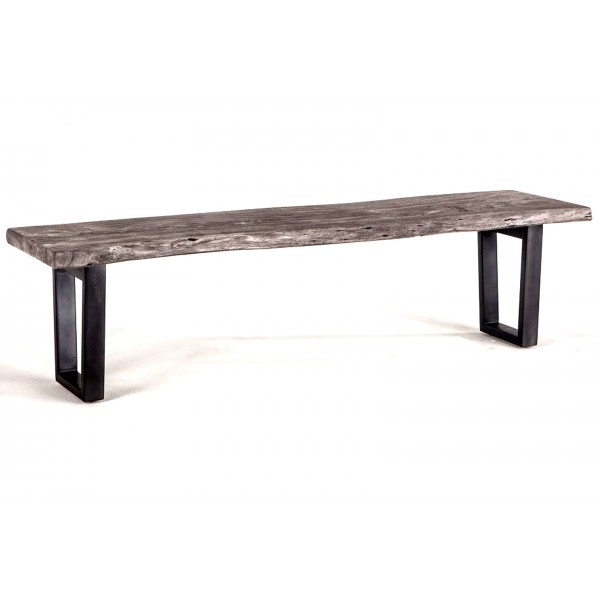 Steamboat Bench 68 inch Weathered Gray