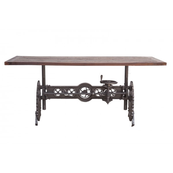 Steampunk 84 Inch Adjustable Table