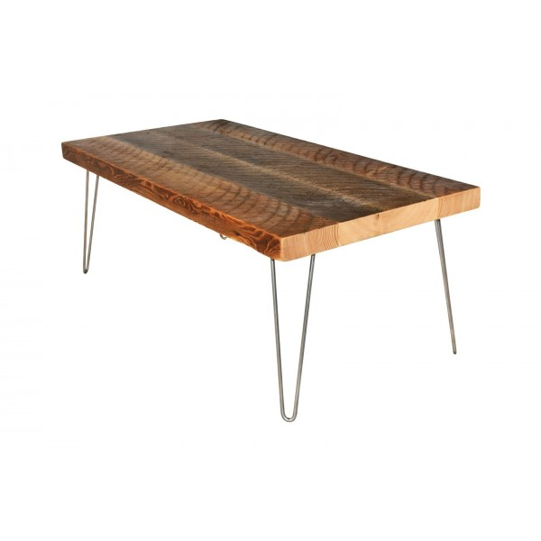 Mid-Century Coffee Table with Hairpin Legs