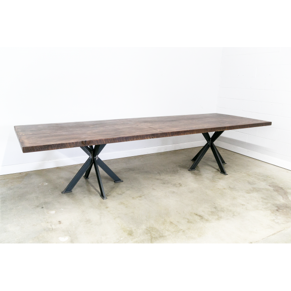 Conference Table with Intersections Leg Base